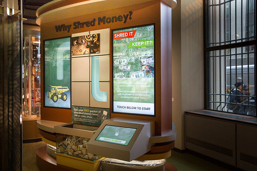 Why Shred Money Display