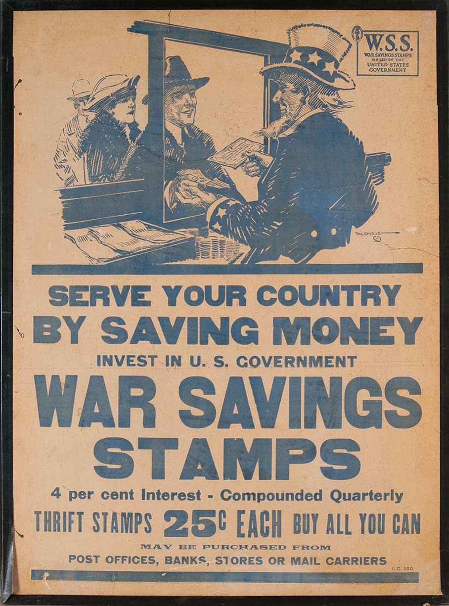 Serve Your Country by Saving Money