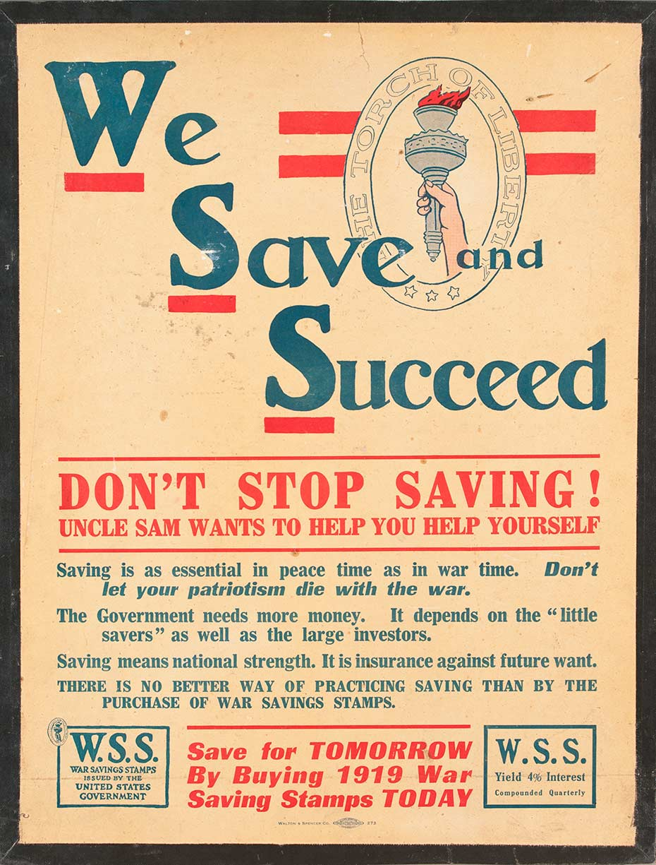 We Save and Succeed