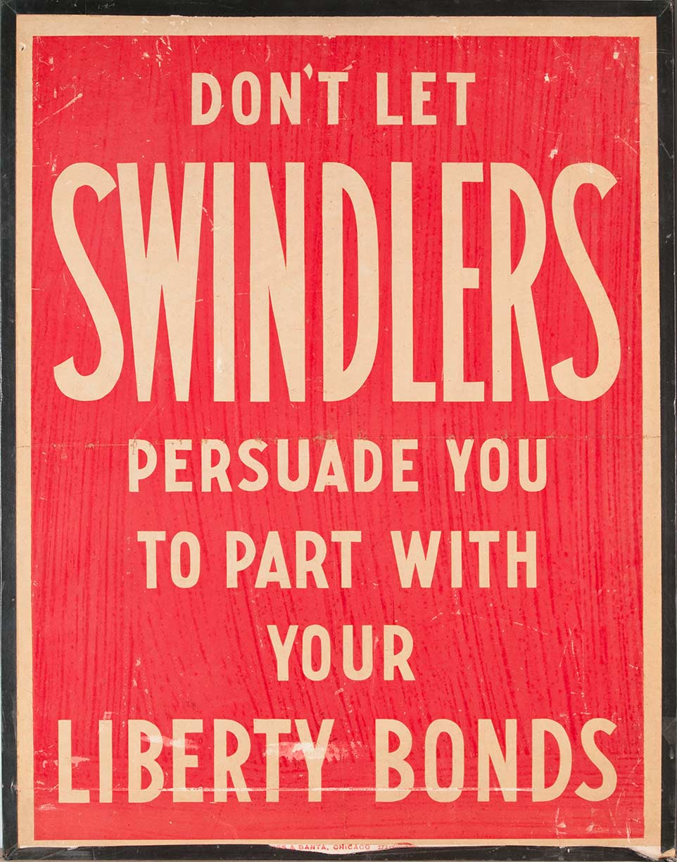 Don't Let Swindlers Persuade You