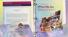 What We Do binder