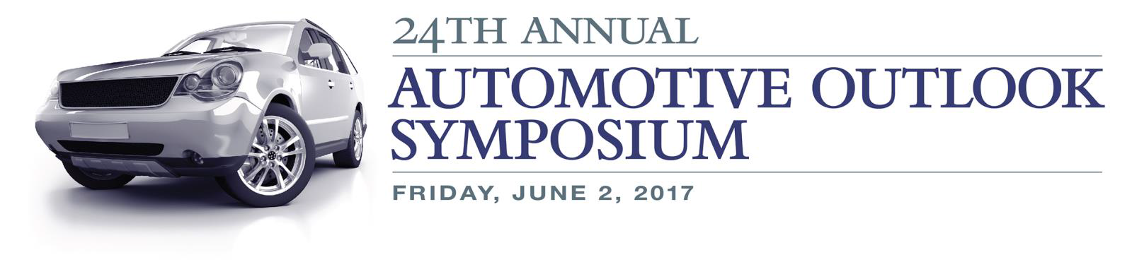 23rd annual automotive outlook symposium logo