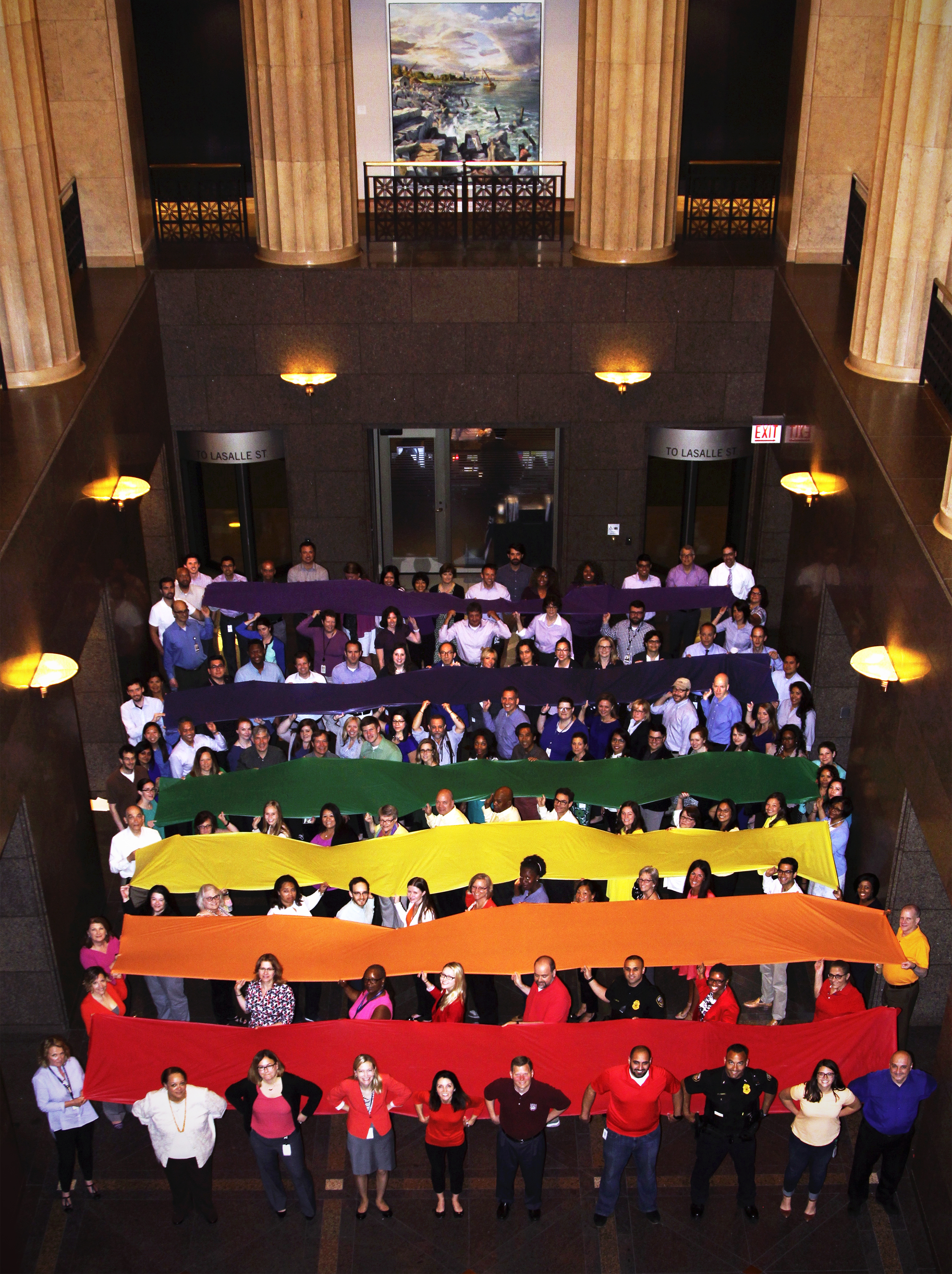 Chicago Pride Flag 2016 image