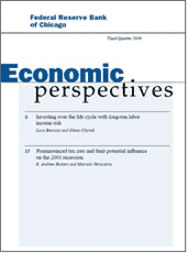 cover of economic perspectives