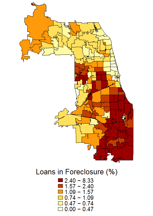 Foreclosure Maps - Federal Reserve Bank of Chicago